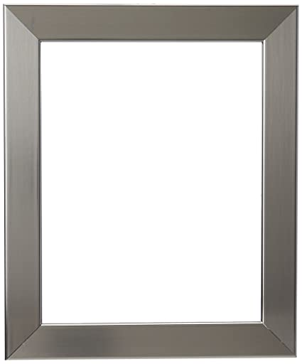 Amazon.com - ArtToFrames 8x10 inch Chrome Stainless Steel Picture ...