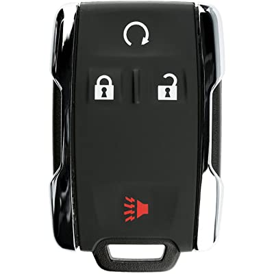 KeylessOption Keyless Entry Remote Control Car Key Fob Replacement for Sierra Silverado M3N-32337100: Automotive
