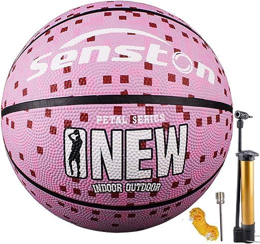 Senston Adulto Pelota de Baloncesto Tamaño 7 Balon de Baloncesto ...