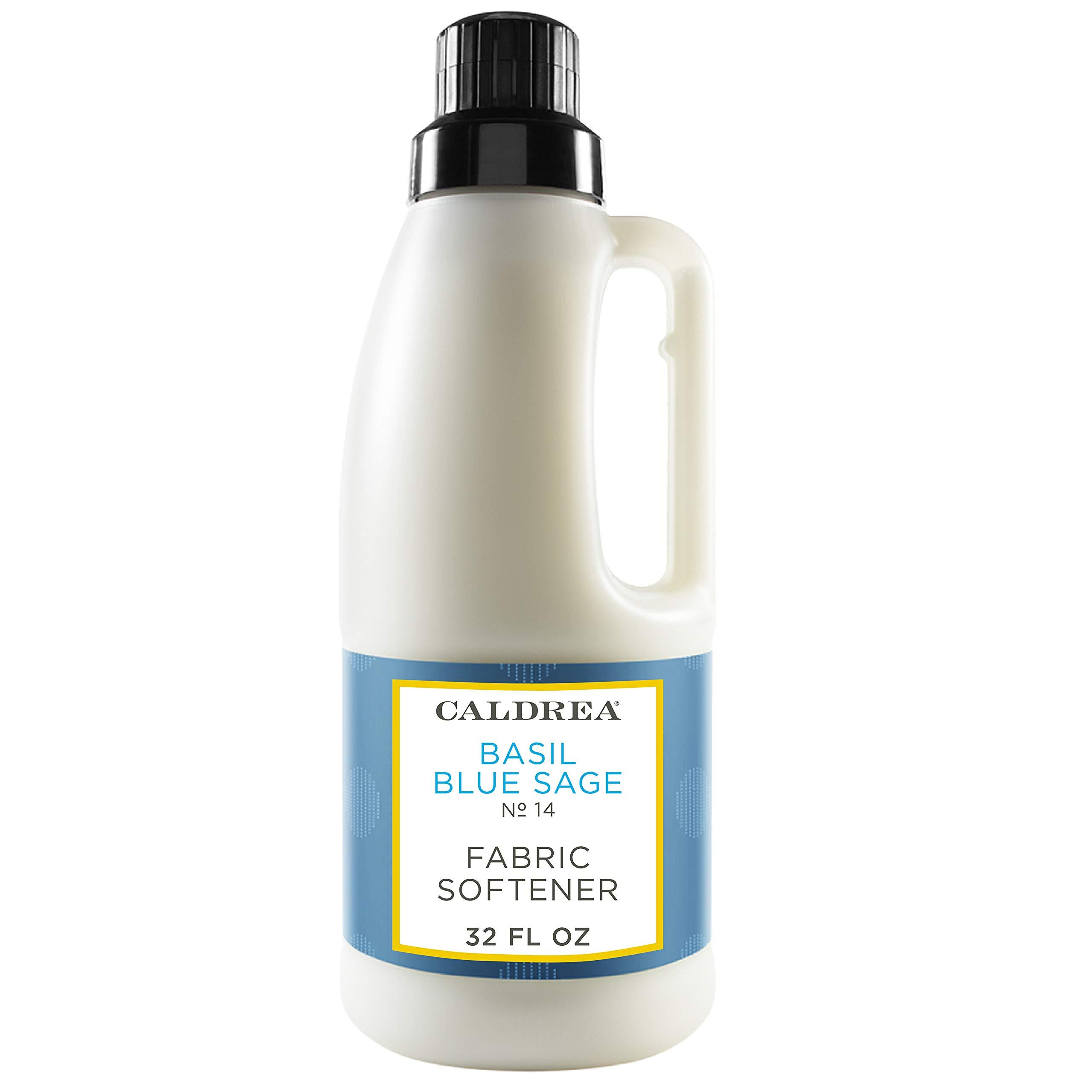 Caldrea Fabric Softener, Basil Blue Sage, 32 oz