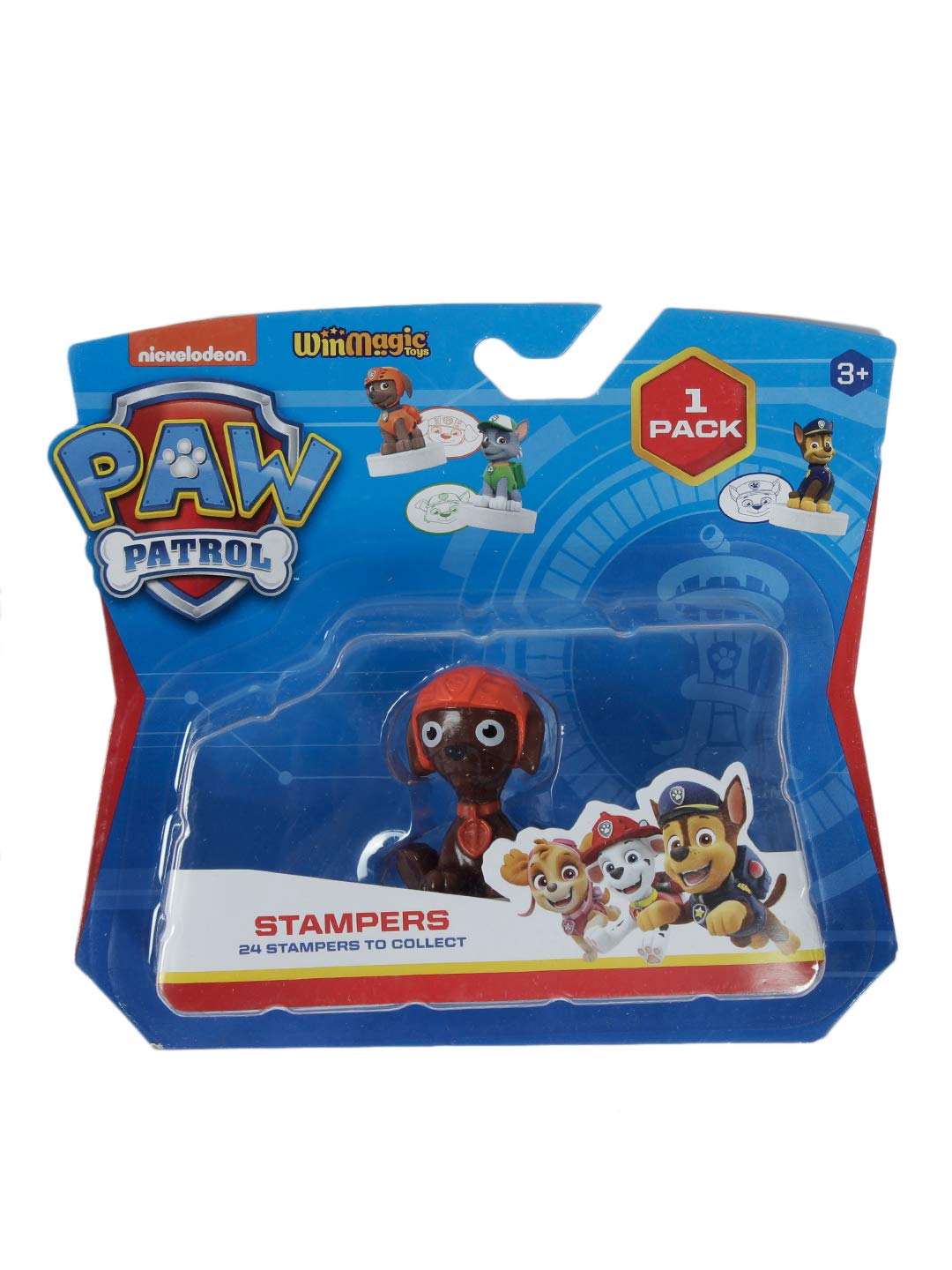 Paw Patrol Stampers 1 Pc Blister (S1) - Zuma for Kids 3+ & Above