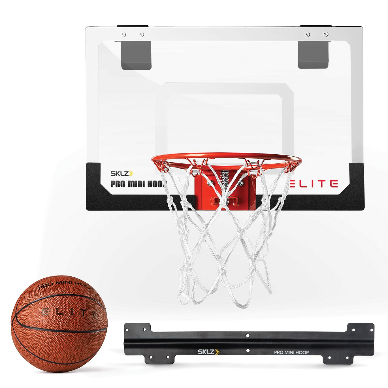 Amazon.com : SKLZ Mini Pro Basketball Hoop Elite with Deluxe Ball ...
