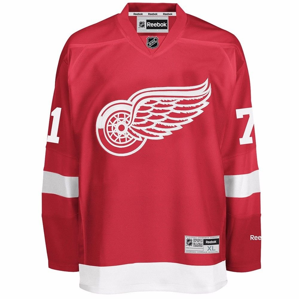 830501273 Amazon.com   Dylan Larkin 2016-17 Detroit Red Wings Red REEBOK Premier Team  Player Jersey Men s   Sports   Outdoors