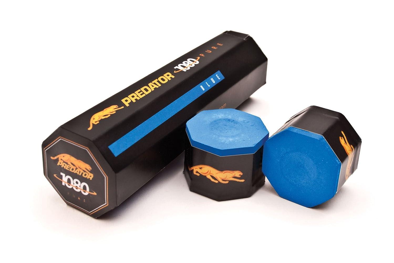 Billardkreide Predator 1080 Pure, blau, 5er Pack