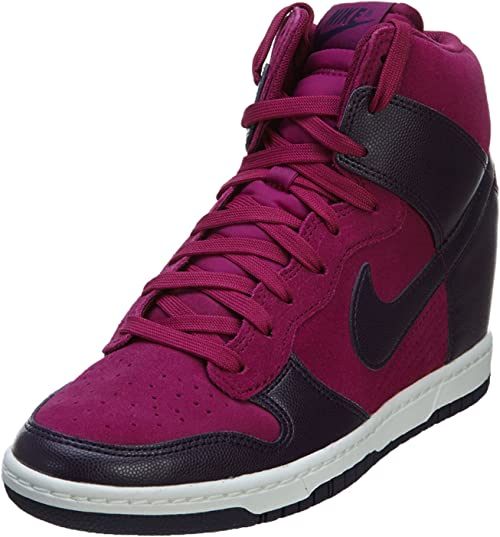 Nike Femmes Wedge Sneakers WMNS Dunk Sky Hi Purple DynastyPurple Dynasty 528899 501