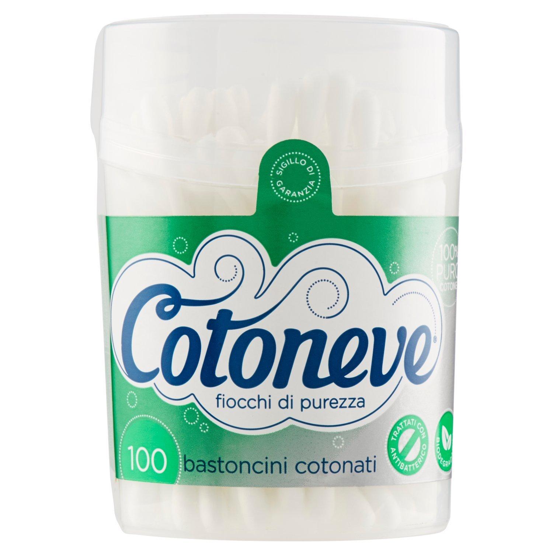 Cotoneve - Bastoncini Cotonati 100 Bastoncini Sisma 1601
