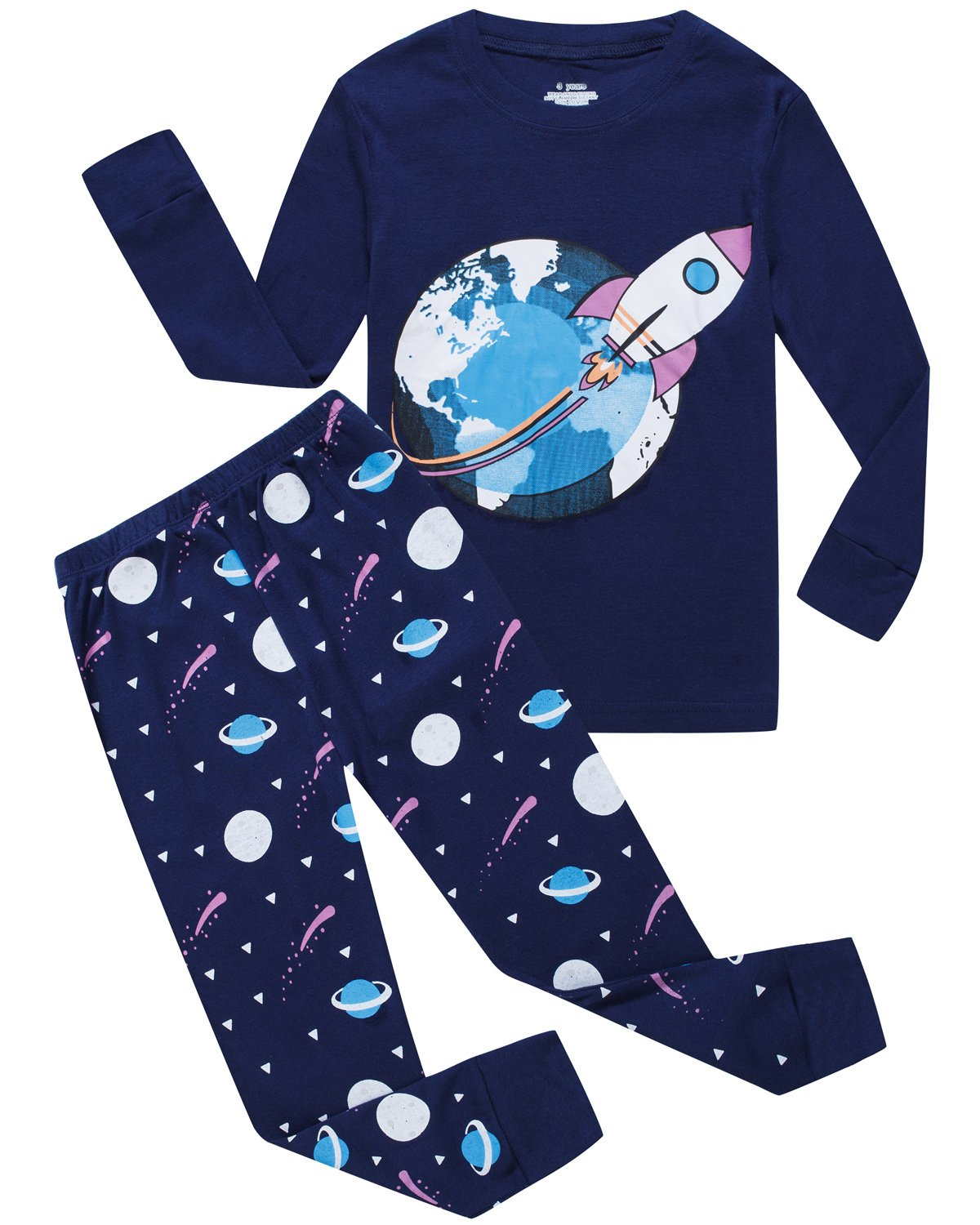 Babyroom Boys Pajamas Cotton Toddler Pjs Kids Sleepwear Sets Clothes Shirts GHW-TR