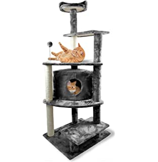 Tiger Tough Cat Tree House Furniture For Kittens And Cats   Multiple  Color/Style Cat