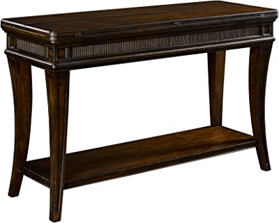 Broyhill 4549-009 New Charleston Flip Top Console Tables, Brown