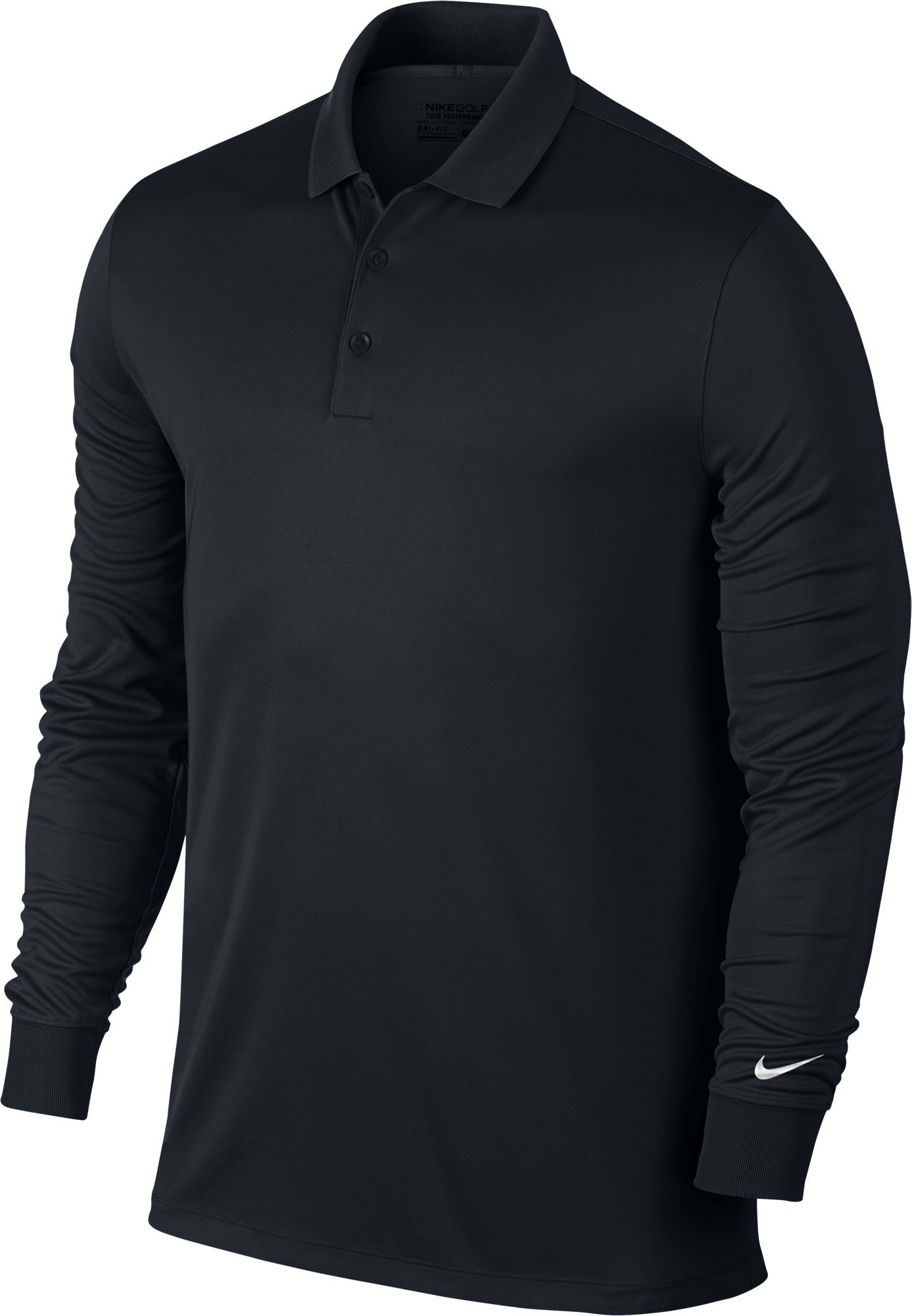 Nike Mens Dry Victory Polo Long Sleeve