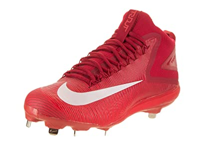 ff8dfa14983f Image Unavailable. Image not available for. Color  Nike New Zoom Trout 3  Baseball Metal Cleats Crimson White Red ...