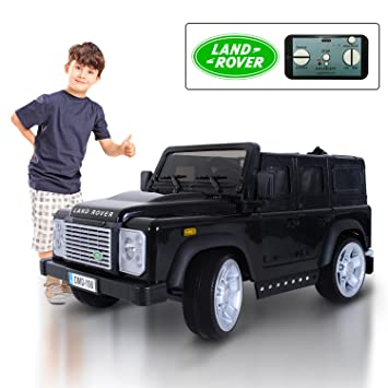 land rover defender 12v kids electric battery powered ride on car with mp3 and remote control