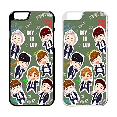 Bts Bangtan Boys Wallpaper 6 Iphone Case Iphone 7 Plus Case Black