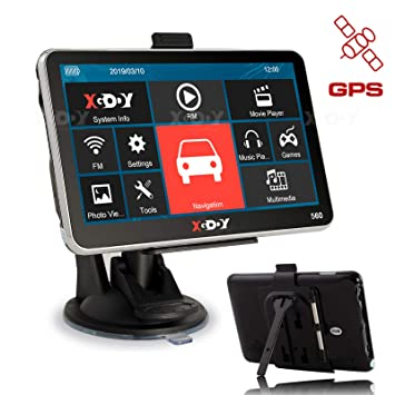 XGODY 560 GPS,Navegador para Coche y Camión -Navegación de 5 ...