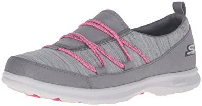 Details about Skechers Go Step Sport Womens Walking Shoes Goga Mat Gray Sneakers Sz 10