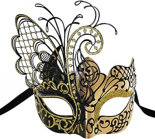 Halloween Ball Party Wedding Black Lace Masquerade Mask Gothic Phantom Applique Venetian Mardi Gras Costume unmolded Embroidery Masks