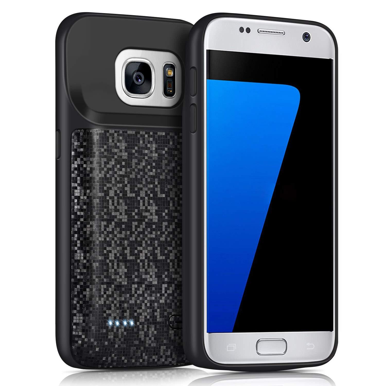 Funda Con Bateria De 4700mah Para Samsung Galaxy S7 Juboty [7kt64jqs]