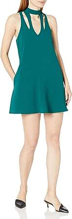 Speechless Crepe a-Line Dress (Junior's)