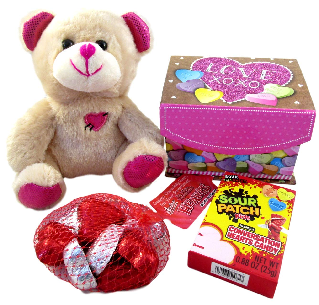 Amazon Com Valentines Day Plush Toy With Chocolate And Sour Patch
