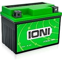 IONI ITX4L-BS / SLA4L-BS 12V 5Ah AGM accu compatibel met YB4L-B / YTX4L-BS verzegelde/onderhoudsvrije scooteraccu…