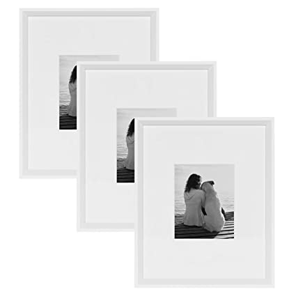 Amazon.com - Kate and Laurel Calter Modern Wall Picture Frame Set ...