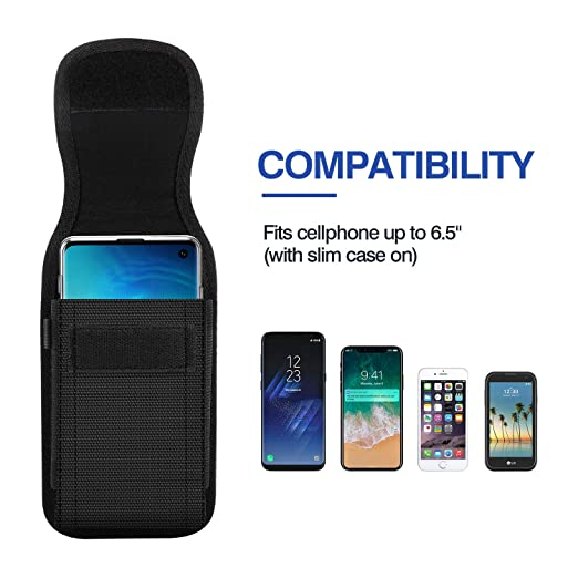 Amazon.com: MoKo Phone Belt Clip Holster, Universal Nylon ...