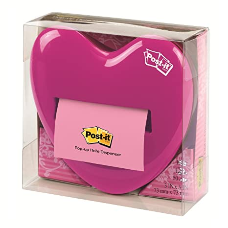 Amazon.com : Post-it Pop-up Notes Dispenser for 3 x 3-Inch Notes ...