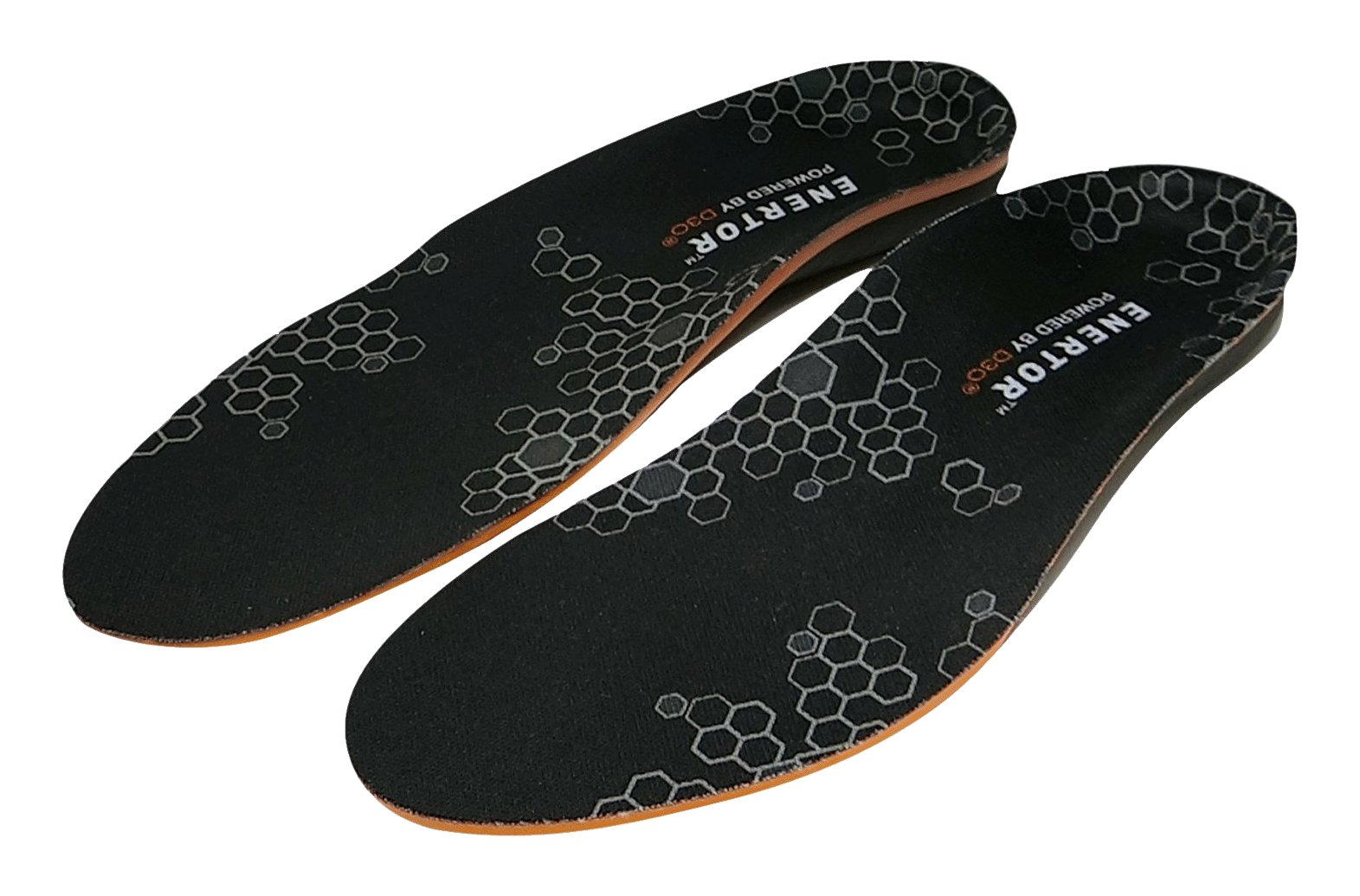ENERTOR - Performance Insoles - Full Length - US Men 5