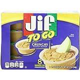 Jif To Go Crunchy Peanut Butter, 12 Ounce