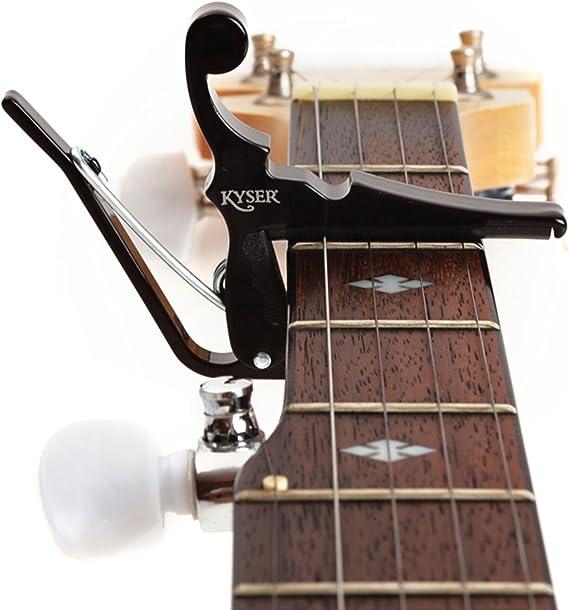 Tune Quick Change Capo Key Clamp für Gitarren Ukulele Mandoline Banjo Zubehör