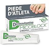 DERMOVITAMINA MICOBLOCK Crema - trattamento e prevenzione piede d'atleta - micosi del piede e micosi cutanee - 30 ml