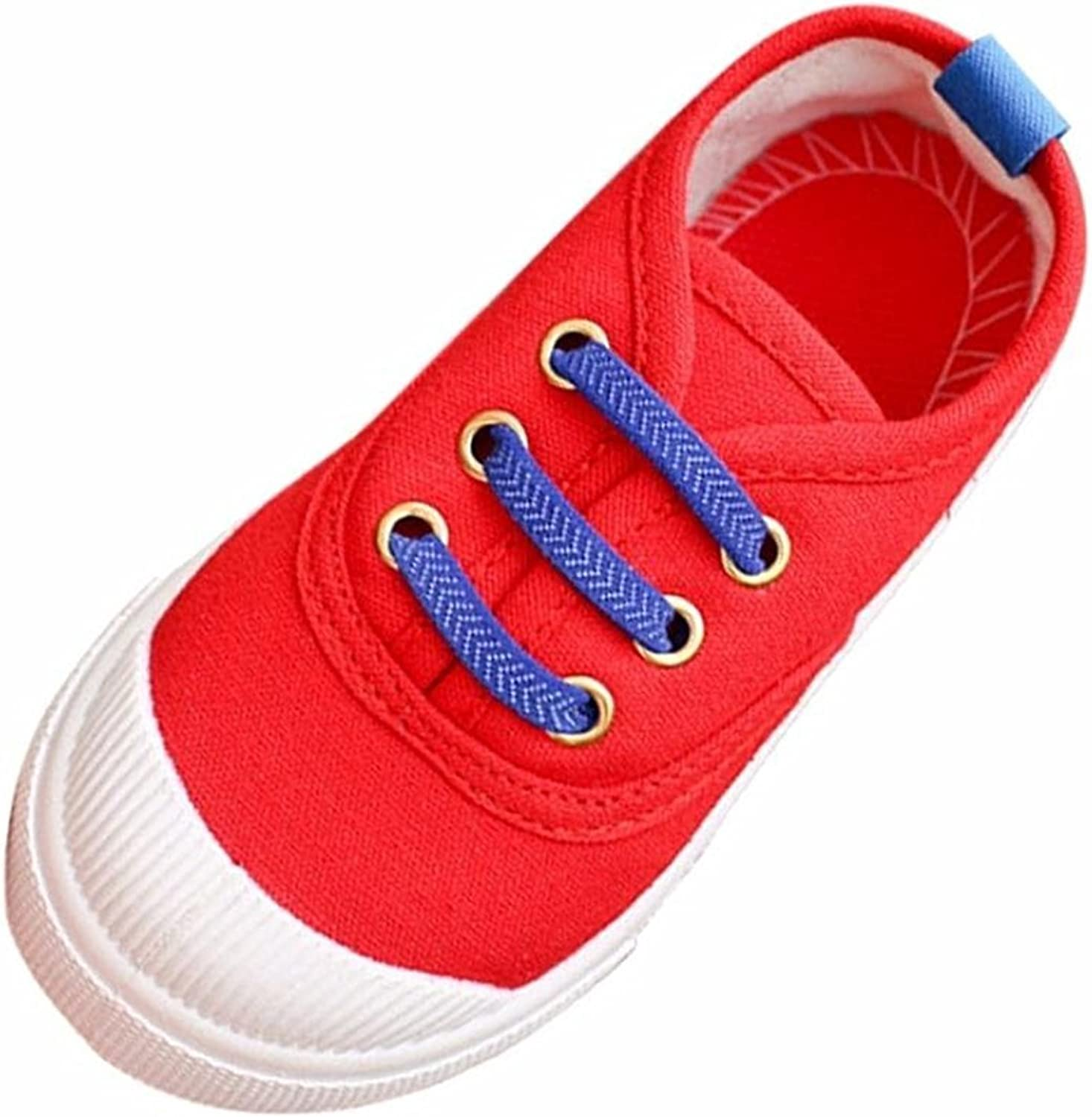 aged 2-2.5 years 21 , Red Muium Toddler Infant Baby Kids Boys Girls Fashion Candy Color Canvas Shoes Sneakers Boots For 2-6 Years Old