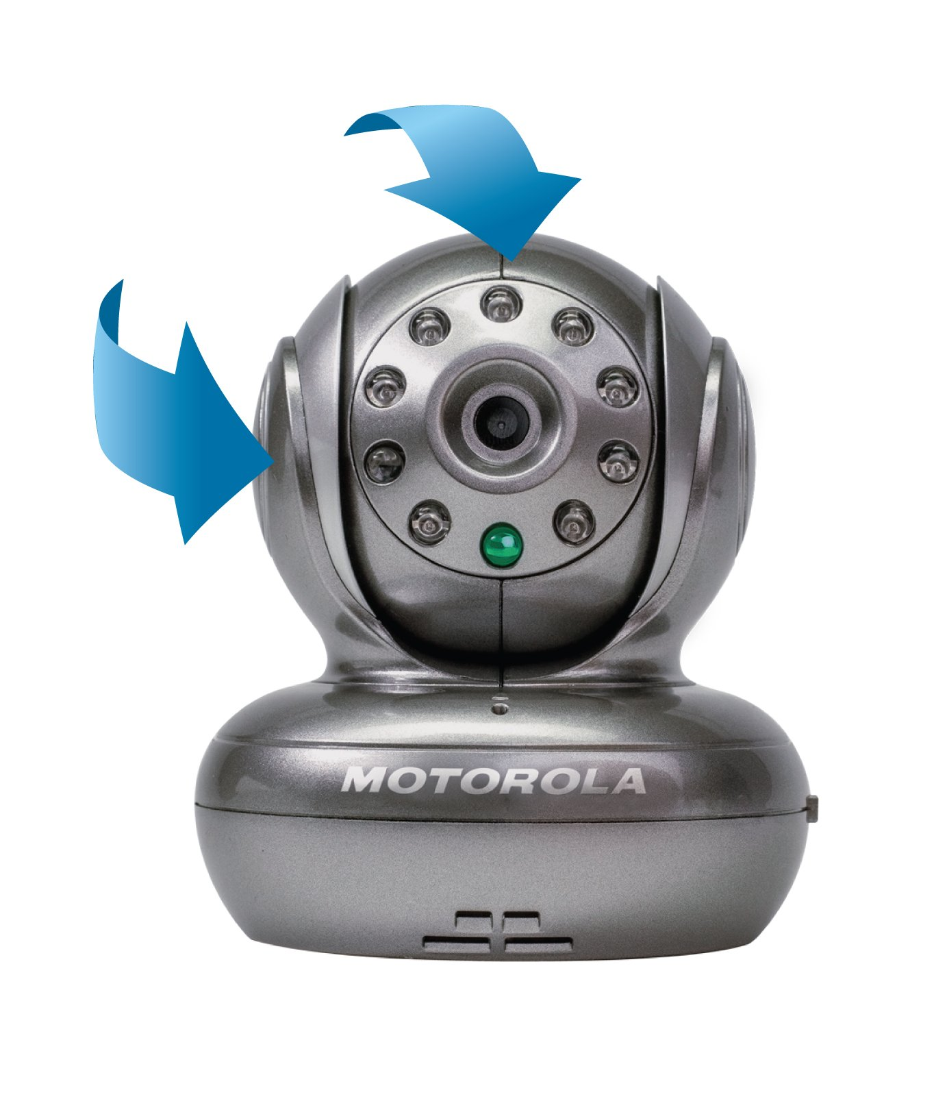 Motorola Blink1 Wi-Fi Video Camera for Remote Viewing with iPhone and Android Smartphones and Tablets, Silver by Motorola (Image #3)