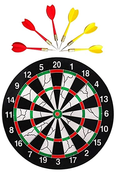 Buy Farraige Double Faced Flock Printing Thickening Family Game Dart
