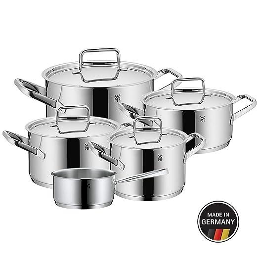 WMF Trend Batería de Cocina (5 Piezas), Acero Inoxidable ...