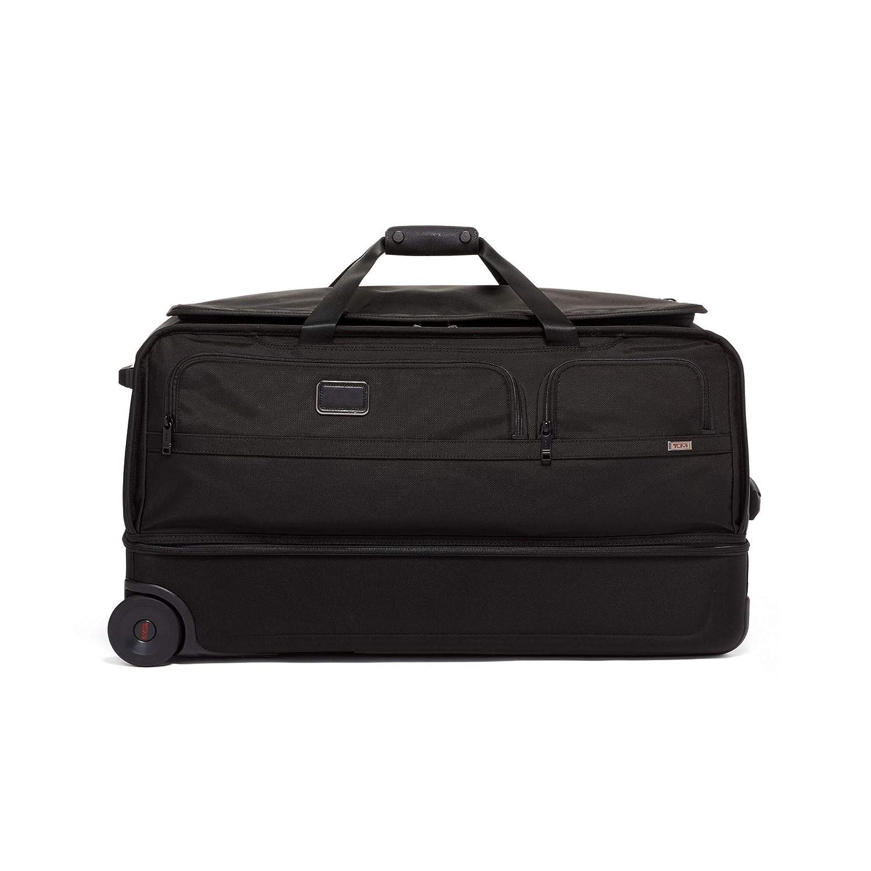 [トゥミ] スーツケース 公式 正規品TUMI Alpha ラージスプリット2ウィールダッフル 110L 49.5cm 10.7kg 02203043  ブラック B07MMMK3CV