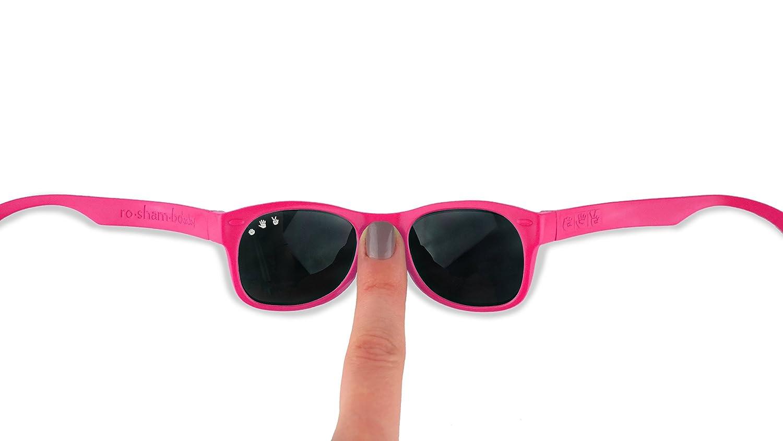 Roshambo Baby Shades - Gafas de sol para bebés de 0 a 2 años, 100% protección UVA/UVB, completamente irrompibles, disponibles en muchos colores: Amazon.es: ...