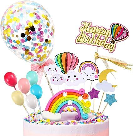 Amazon.com: iZoeL - Decoración para tarta de cumpleaños ...