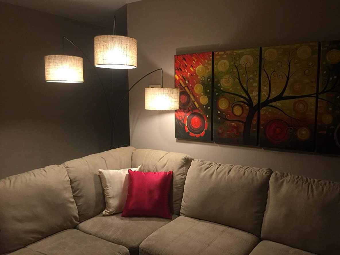 Tree floor lamps for living room