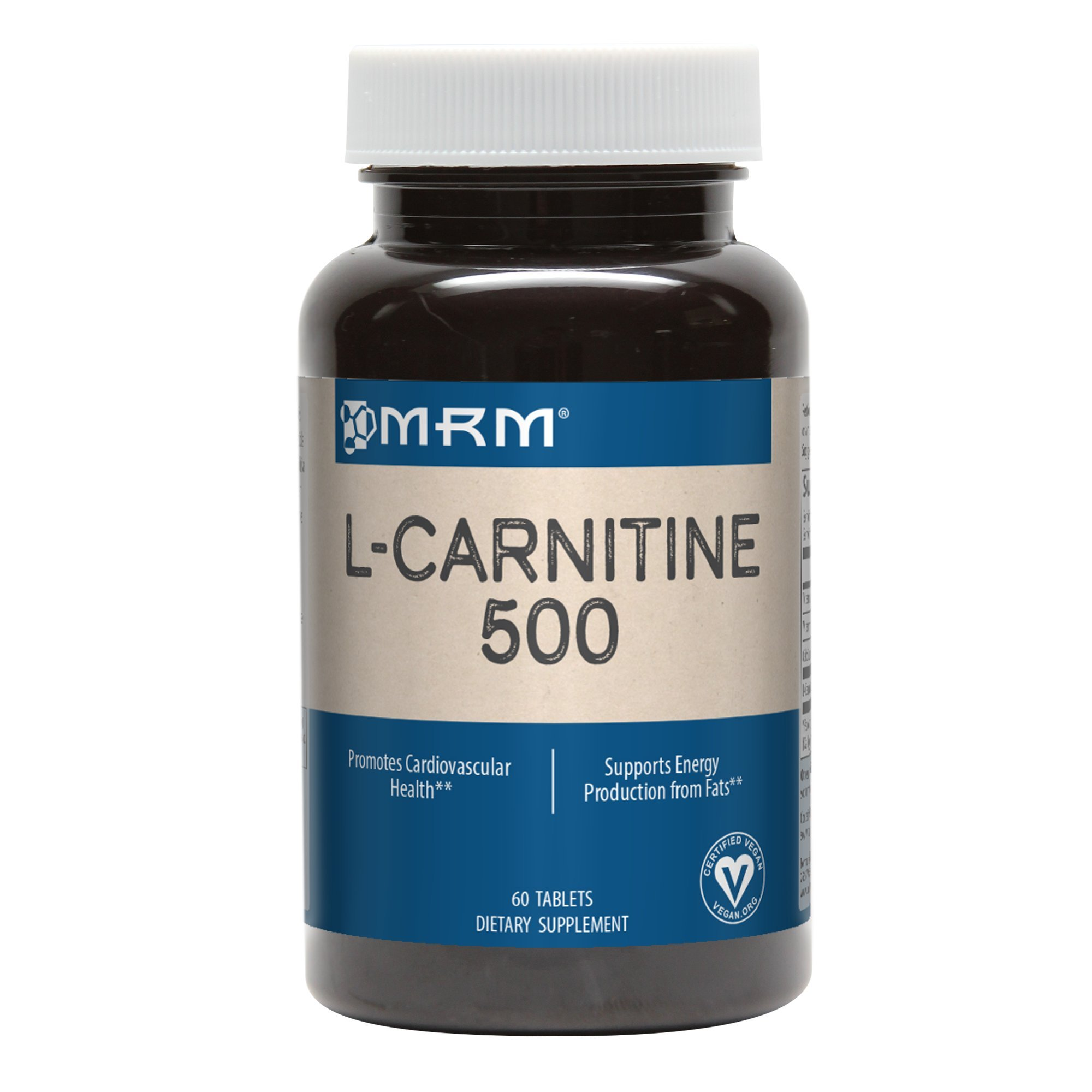MRM L-Carnitine 500 mg Veg- 60Tablets