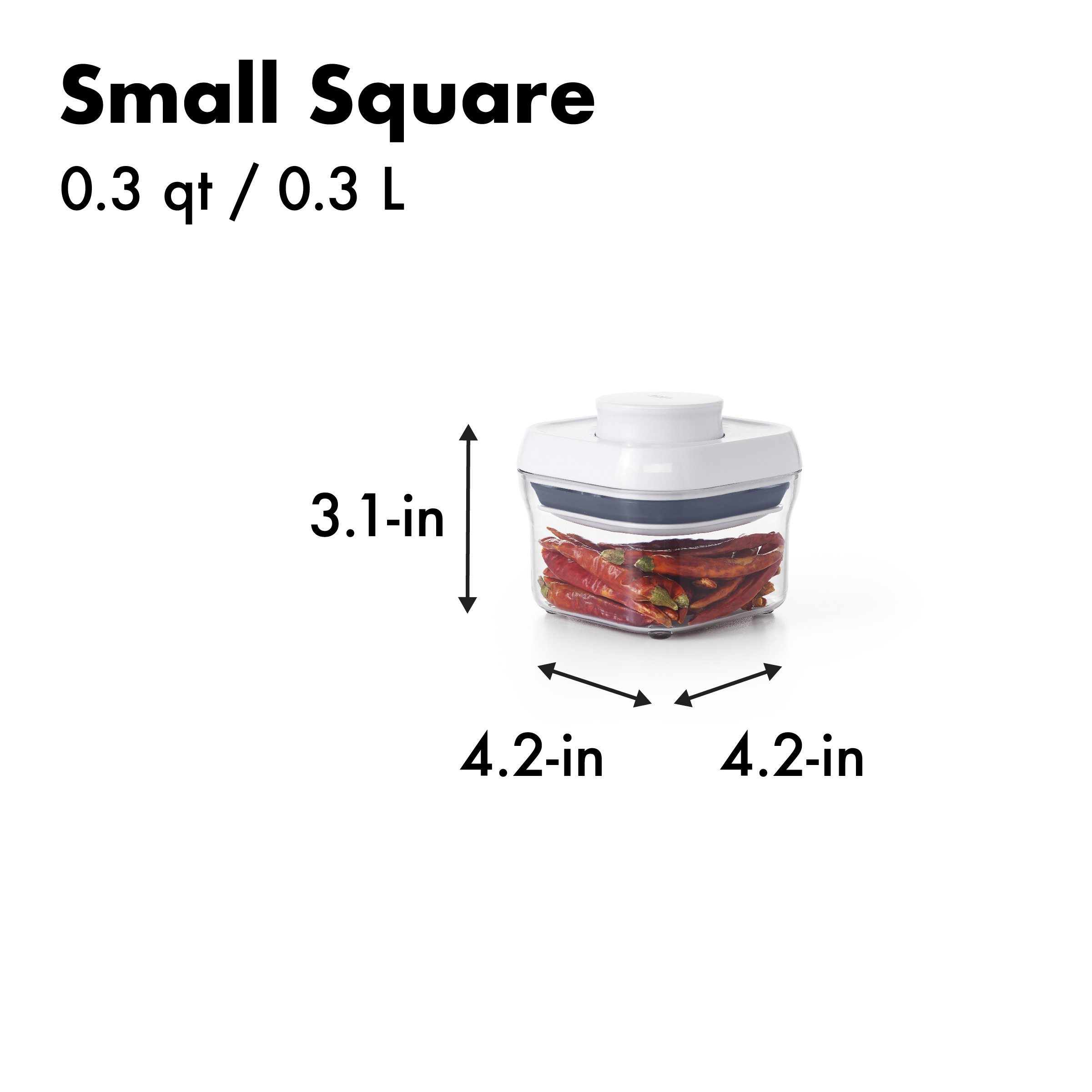 OXO Good Grips 5-Piece Airtight POP Container Set by OXO (Image #7)