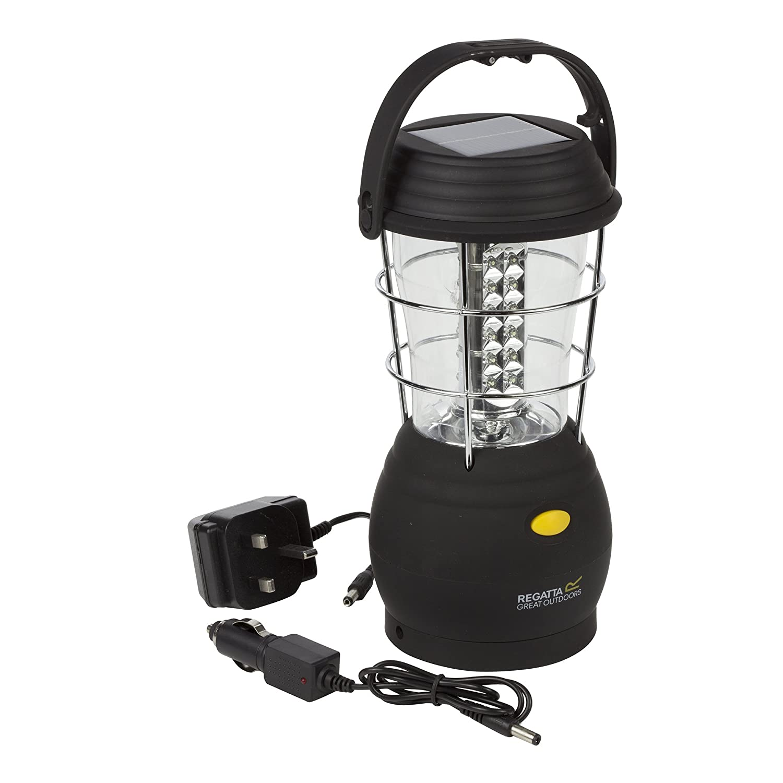 Regatta Helia Solar 36 LED 80 Lumen Bright EU Camping Lantern
