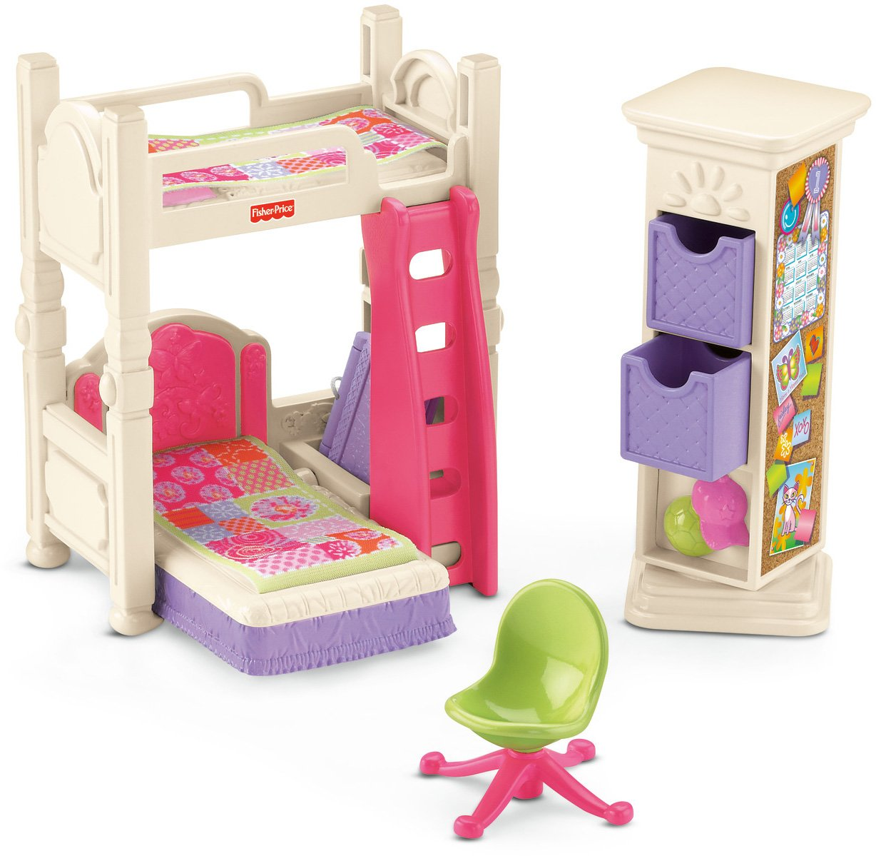 Fisher Price Loving Family Kid 39 S Bedroom 0746775166205