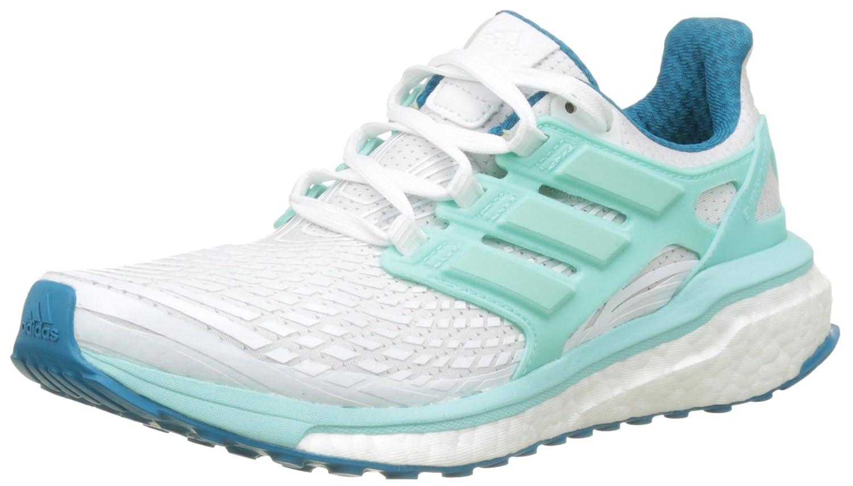 Adidas Energy Boost W, Zapatillas de Running para Mujer 38 2/3 EU|Blanco (Ftwbla / Aquene / Petmis)