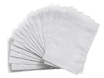 50 unidades pequeñas bolsas transparente de pergamino (13 x ...