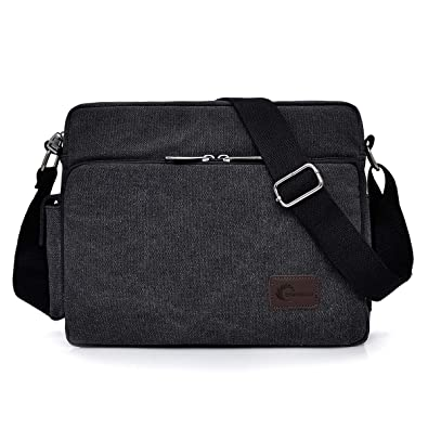 e4959a5dd37 Messenger Bag, CHEREEKI Unisex Vintage Canvas Messenger Bags Casual Sling  Shoulder Pack Daypack Satchel Bag