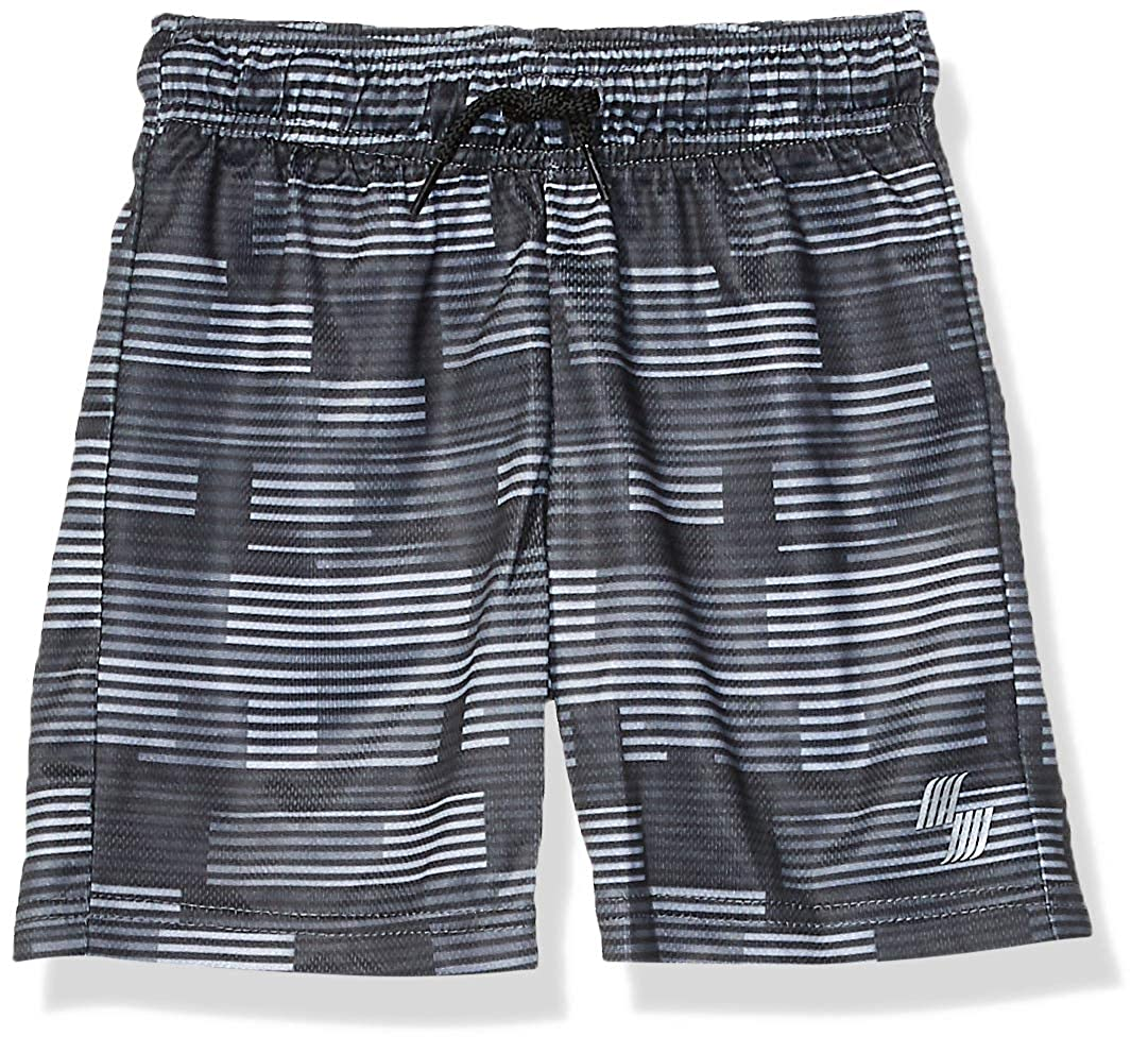 The Childrens Place Boys 2 Pack Solid Mesh Shorts