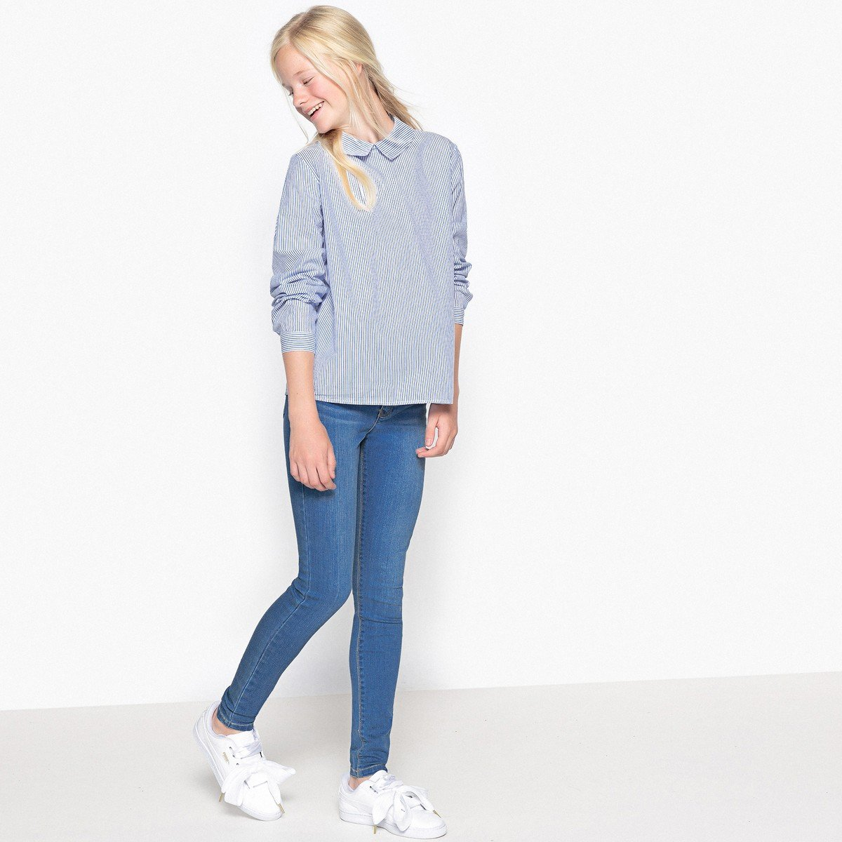 La Redoute Collections Big Girls Super Skinny Jeans 10-16 Years