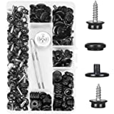 """Kelife 150 PCS Canvas Snap Kit, Marine Grade 3/8"""" Socket Stainless Steel Boat Canvas Snaps with 2 Pcs Setting Tool for…"""