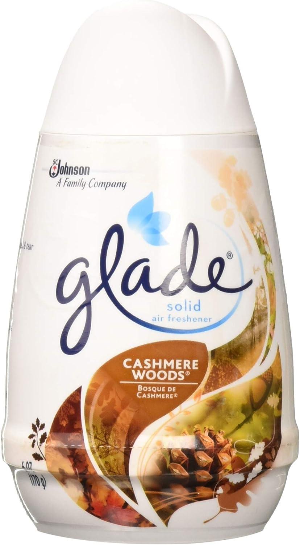 Glade 6 pcs Cashmere Woods Solid Air Freshener 6oz (170 g)